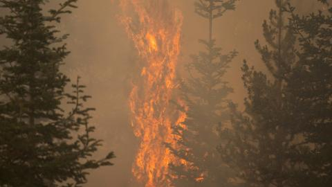 California wildfires spread, drawing support from out-of-state crews