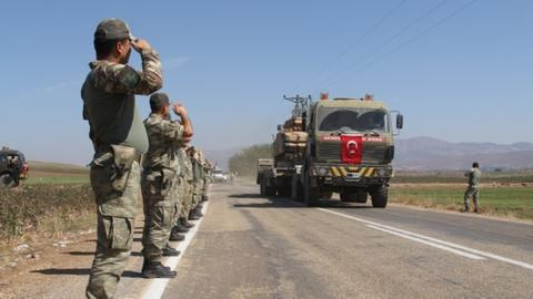 Terror attack kills two Turkish soldiers in northern Syria