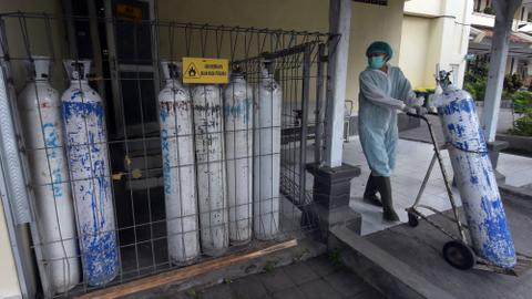 Indonesia prepares more ICU units as Bali runs low on oxygen