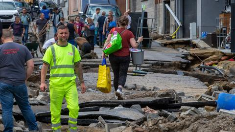 Belgium hit by severe floods as stormy weather set to continue