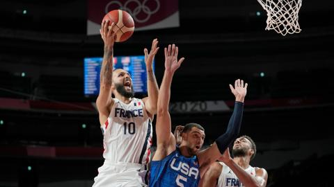 France shock US dream team with stunning defeat in Olympics basketball