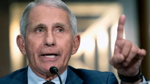 """Fauci """"very frustrated"""