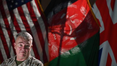 US to continue air strikes in support of Afghan troops