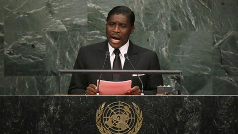 Equatorial Guinea shuts UK embassy to protest sanctions on vice president
