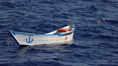 Dozens drown as migrant boat capsizes off Libya