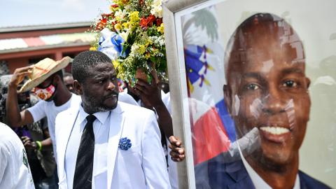 Haiti arrests top security official in Moise assassination probe