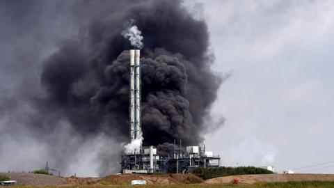 German chemical site blast declared 'extreme threat'
