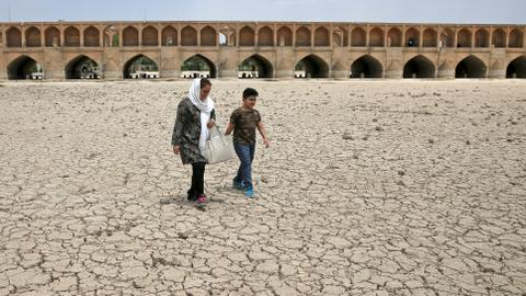 Iran's water protests reveal an impending environmental crisis