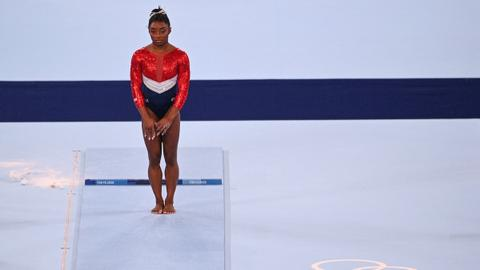 Gymnast Biles exits Olympic team final due to 'mental health'