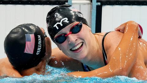 'Just proud': Relentless Ledecky finally wins gold at Tokyo Olympics