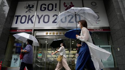 Tokyo blames youth for all-time high in cases days after Olympics start