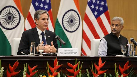 With eyes on China, US and India agree to expand multilateral security ties