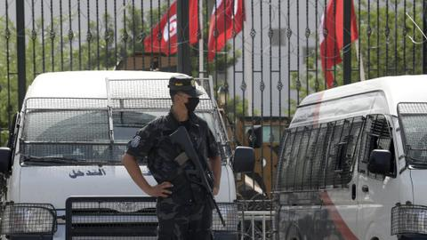 Tunisia's Saied fires two dozen officials after seizing executive powers