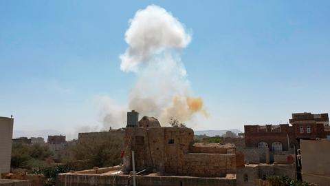 New platform charts air strikes and role of Western arms in Yemen war
