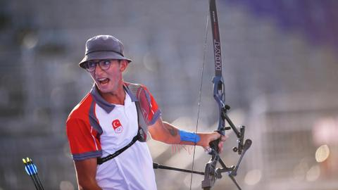 Gazoz claims gold in Turkey's first Olympic medal in archery