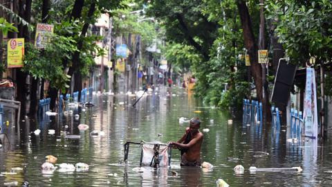 India's monsoon death toll swells as rain lashes east