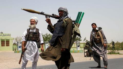 Air strike hits private hospital in southern Afghanistan as battles rage