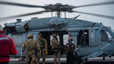 US Navy: 'Drone strike' hit Israeli-managed oil tanker off Oman