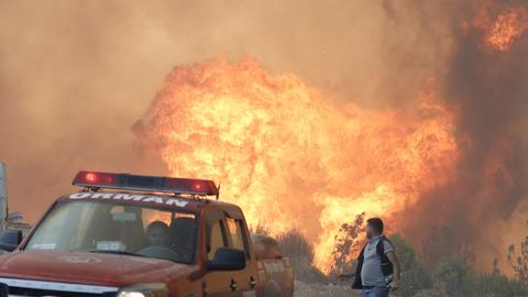 Fight against forest fires continues at full pace in Turkey
