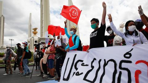 Thai protesters demand PM resignation as anger grows over Covid handling
