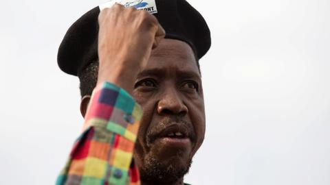 Zambia president sends in army to quell pre-election violence