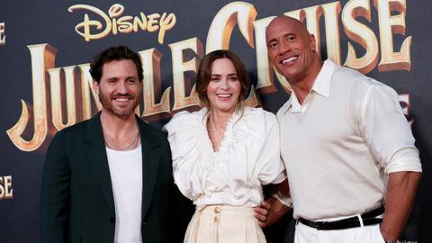 'Jungle Cruise' rules North American box office despite Covid concerns