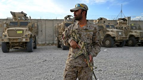 NATO donates military supplies worth millions to Afghanistan on its way out