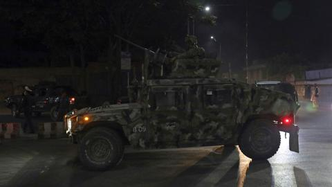 Deadly bomb and gun attack hits Afghan capital Kabul
