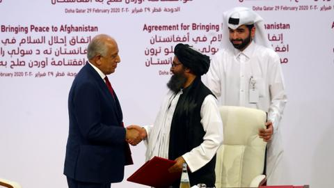 US envoy: Afghan Taliban seeks 'lion's share of power' in stalemated talks