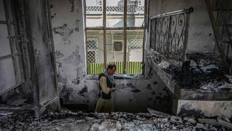 Death toll rises in coordinated Kabul attack targeting minister, facilities
