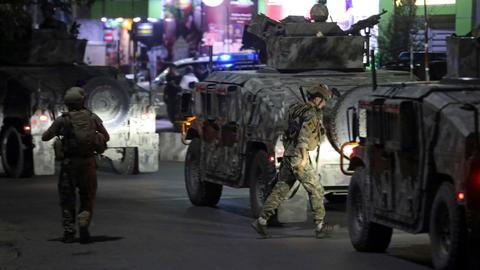 Afghan officials: Kabul attack ends with killing of all gunmen