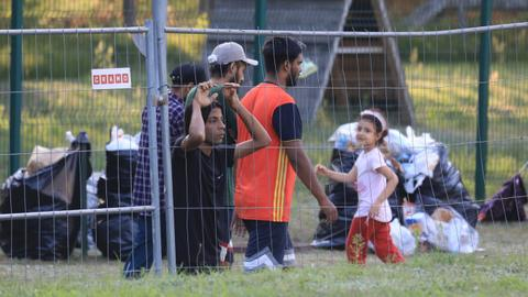 Red Cross warns Lithuania refugee pushback contravenes international law