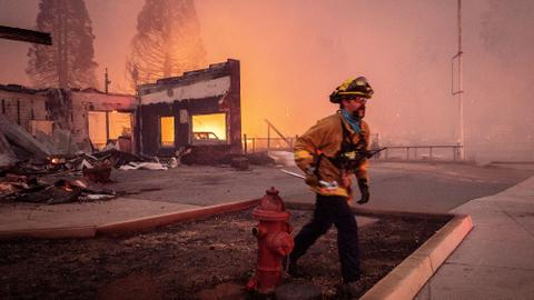 California's deadly Dixie wildfire destroys businesses and homes