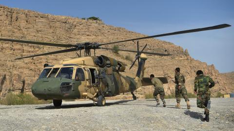 Afghan air strikes hit Taliban in south as fighting for ground intensifies