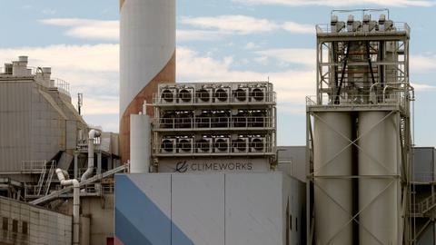 World's largest carbon capture plant opens amid scepticism