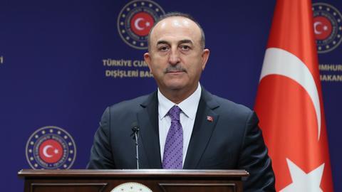 Turkey's FM arrives in South Korea on four-day trip