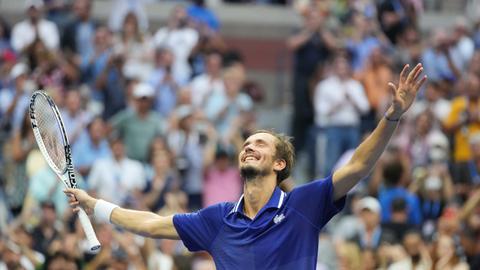 Medvedev sinks Djokovic's Grand Slam dream at US Open