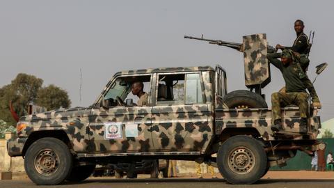 Dozens killed in air strike, militant ambush in northeastern Nigeria