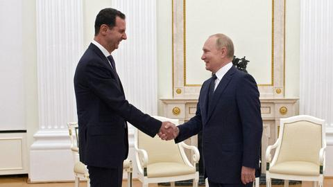 Putin hosts Assad as the two sides eye Syria's consolidation