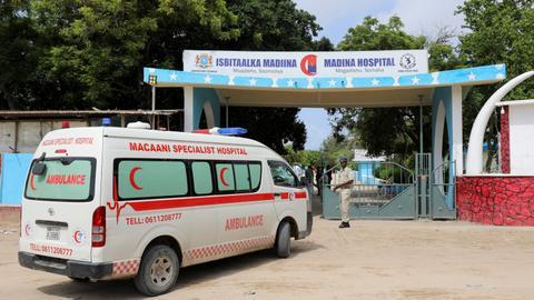 Suicide attack leaves several dead in Somali capital Mogadishu