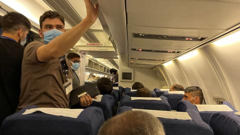 US evacuates around 500 Afghans from Uzbekistan