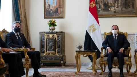 US provides aid to Egypt irrespective of its poor human rights record