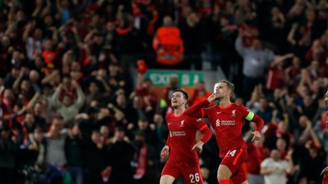 Liverpool spoil AC Milan's Champions League return