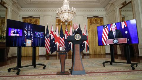 US, UK and Australia form Indo-Pacific security alliance