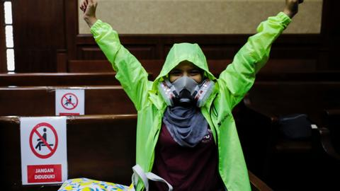 Indonesia's Widodo is found negligent over air pollution