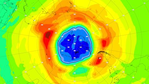 This year's ozone layer hole larger than usual, scientists say