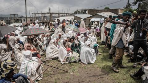 Hundreds of aid trucks 'vanish' in Ethiopia's Tigray as US sanctions loom