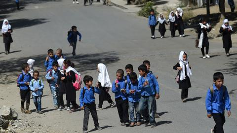 Taliban effectively bans girls from schools, scraps women's ministry