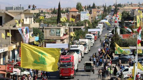 Lebanon PM: Hezbollah's import of Iran fuel violates country's sovereignty