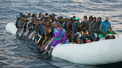 UN concerned over 'disappearence' of Europe-bound migrants in Libya